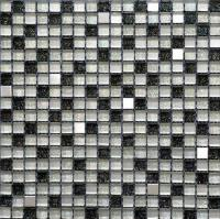 Black And White Mosaic Tiles | Tile Design Ideas