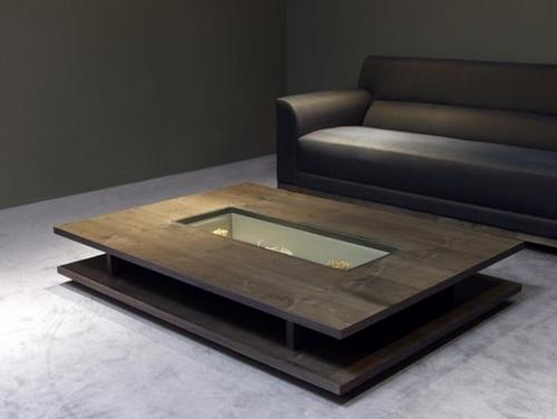 low ground clearance center table