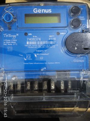 Genus 3 Phase Meter Multi Function Meter, मल्टिफंक्शन मीटर  Electrical Controls & Switch Gears