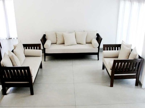 Wooden Sofa Set Below 15000