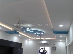 P O P Fall Ceiling Wallpaper Modern Home False Ceiling Beautiful Bedroom Ceiling