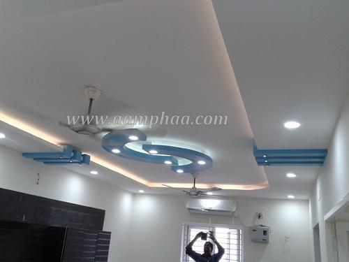 3d Board And Wallpaper Lagos Pop False Ceiling Bedroom Service In Arumbakkam Chennai