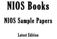 Nios Solved TMA 2018-19, Sample Question Papers, मॉडल के