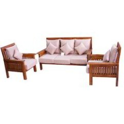 Wood Sofa Set Under 10000 Ikea Bed Memory Foam Wooden Suppliers, Manufacturers & Dealers In ...