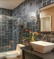 slate stone bathroom tiles