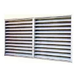 louver exterior shutter for exhaust fan