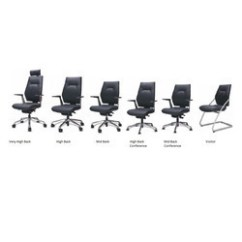 Revolving Chair In Vadodara Knoll Generation Task Leather Office - Manufacturers, Suppliers & Exporters