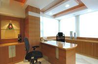 Contemporary Office Cabin Interiors in Malad West, Mumbai ...