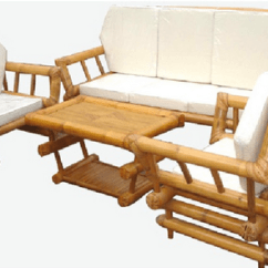 Bamboo Couch And Chairs Hanging Chair Stand Frame Sofa Set At Rs 15000 Piece Baans Ka ब स क