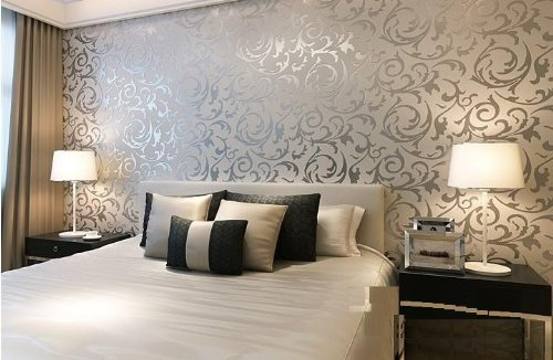 wallpaper decoration for living room furniture sets with tables wall paper designing service design