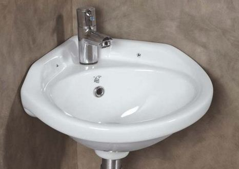 eagle standard corner wall mounted wash basin