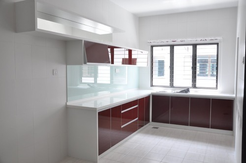 acrylic kitchen cabinets gutter cabinet g p modular furnitures private limited