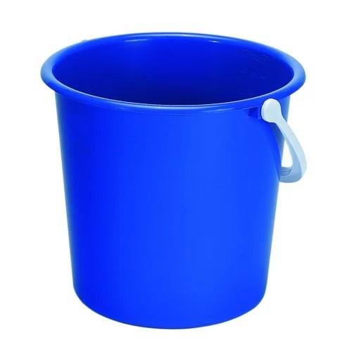 plastic water buckets