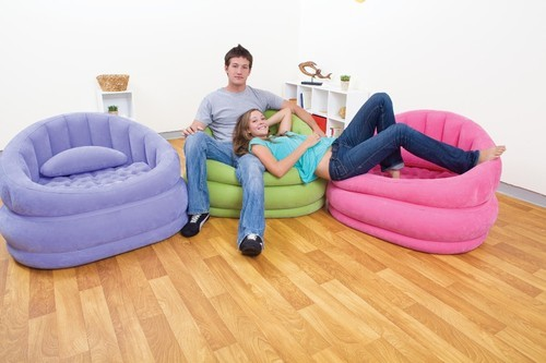 intex sofa chair multi functional bed kmart inflatable air furniture 68563 poltrona cafe manufacturer from new delhi