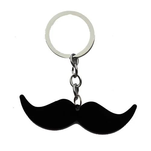 black moustache design heavy