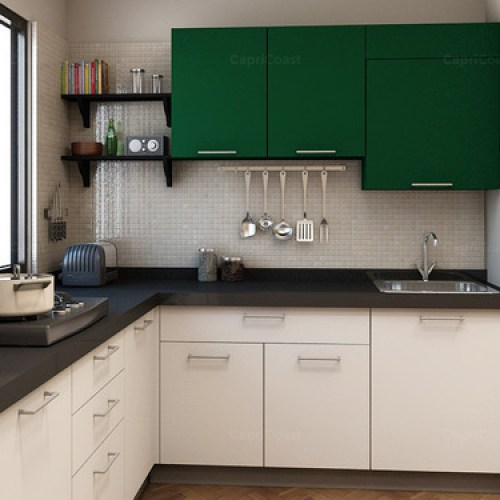 L Shaped Modular Kitchen At Rs 60000 Unit S 8 Square Modular