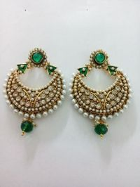 Fancy Earrings Youbella Traditional Gold Plated Jewellery ...