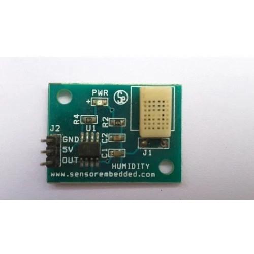 Humidity Sensor Circuit Ud8 Resistive Humidity Sensor Application