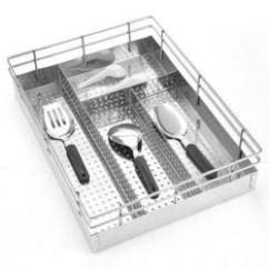 Kitchen Basket Farmhouse Table Sets 310 Stainless Steel Trolley For Hotel Restaurant Rs