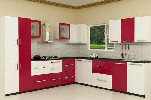 9 X 6 L Type High Glossy Kitchen Rs 345000 Set V3 Trasta Works Private Limited Id 13597495512