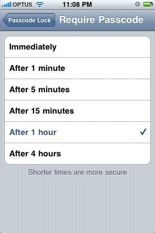 Extended lock times in iPhone software 2.0