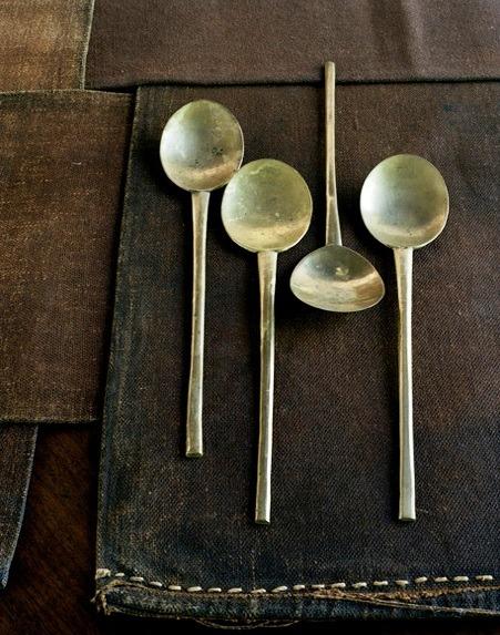 Silver spoons.. via Gemma Comas