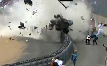 Horrific Le Mans Crash Goes Viral on YouTube [VIDEO]
