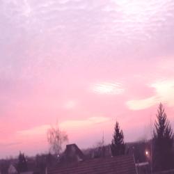aesthetic sunset pink cute sky pastel clouds purple cloud kawaii pale cloudy mine photoset