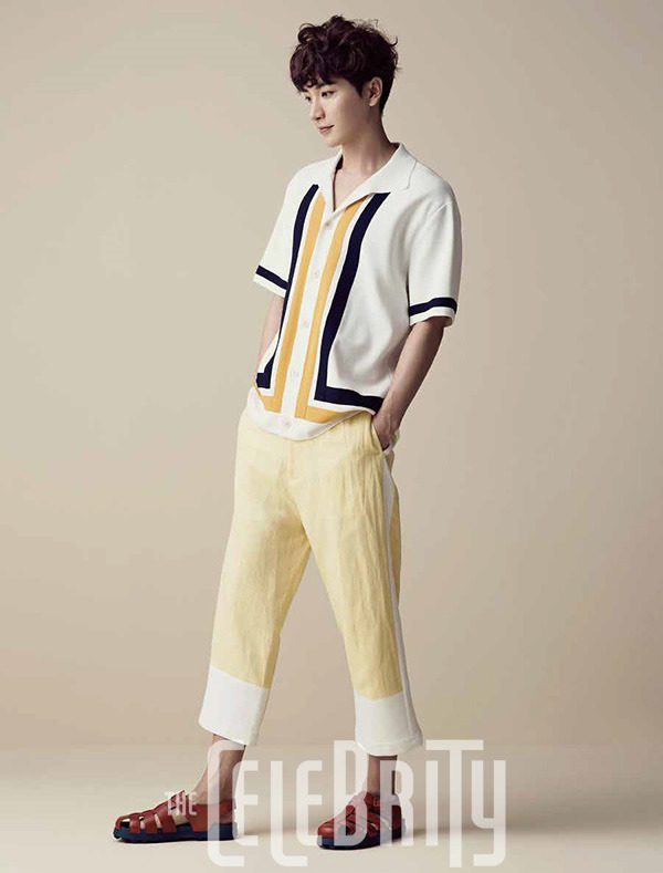 Super Junior Lee Teuk - The Celebrity Magazine March Issue '15