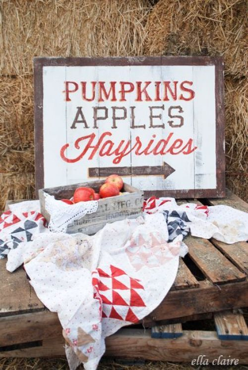 Fall Ideas and Inspiration Pumpkins Apples Hayrides-  Fall In Love with Fall- Fall Inspiration Pics  Frosted Events  www.frostedevents.com