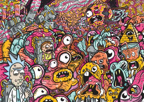 Gravity Falls Wallpaper Dump Rick And Morty Fan Tumblr