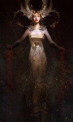 horror fantasy Queen digital art gothic art dark art fantasy art fantasy digital art fantasy concept art fantasyartwatch •