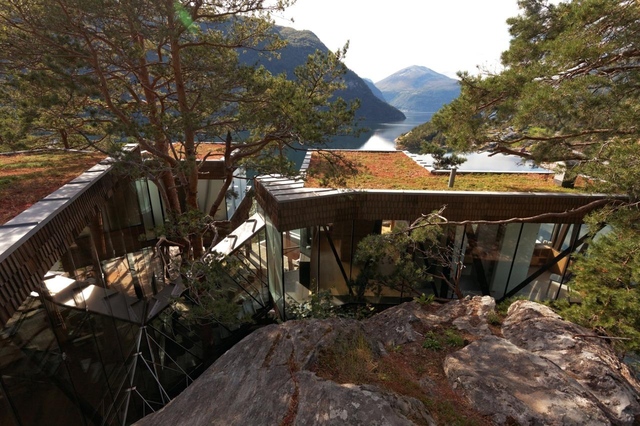 Summer House in Storfjord Norway by Jensen   Get
