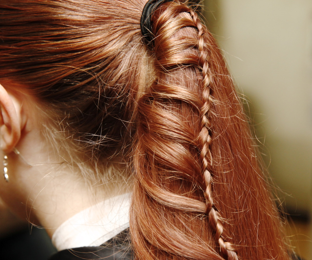 Instructables Ladder Braid Hair Tutorial The Ladder