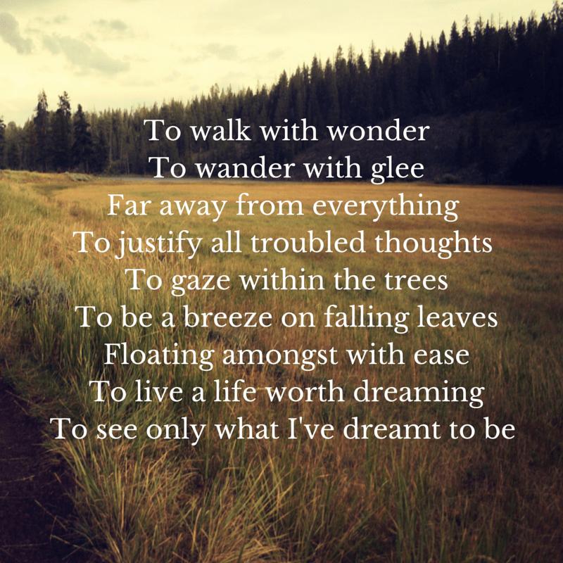 Linalisays Dreaming of Life Poem