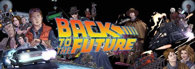 Back to the Future Banner