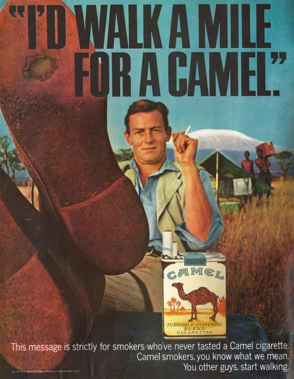 Vintage Camel Cigarette Ads