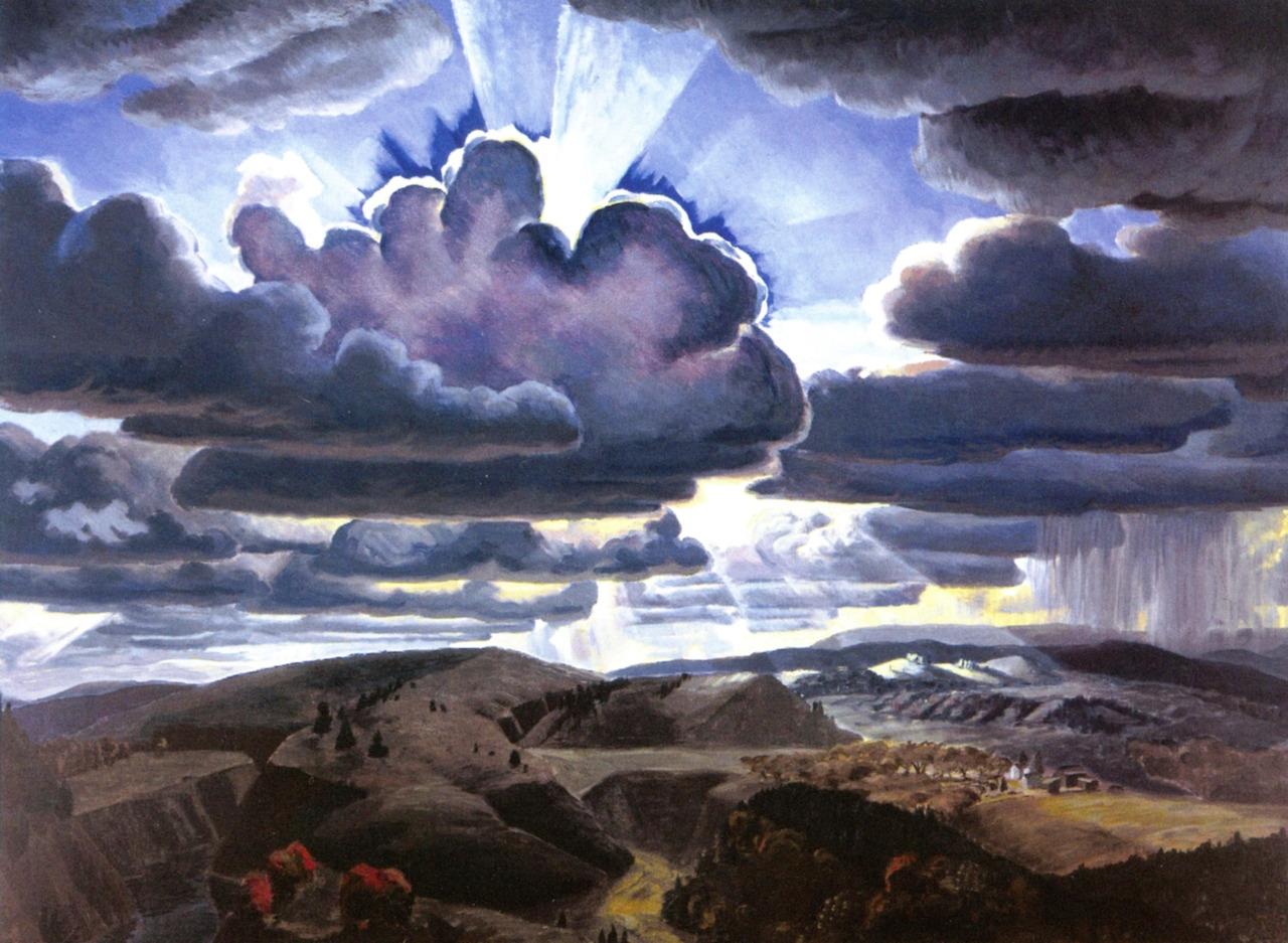 Charles Burchfield - Sunburst