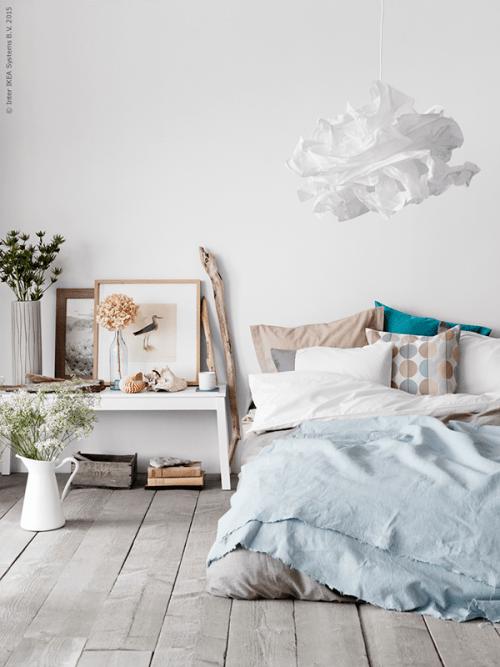 bedroom Interior Design cottage pastel interiors ikea
