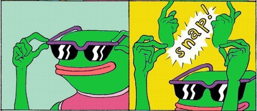 art Cool meme snap pepe sad-frog-meme •