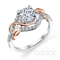 Rose Gold Engagement Rings: Rose Gold Engagement Rings Las ...