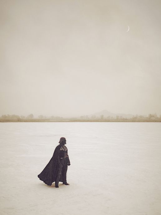 Darth on Lake HothJessyel Ty Gonzalez