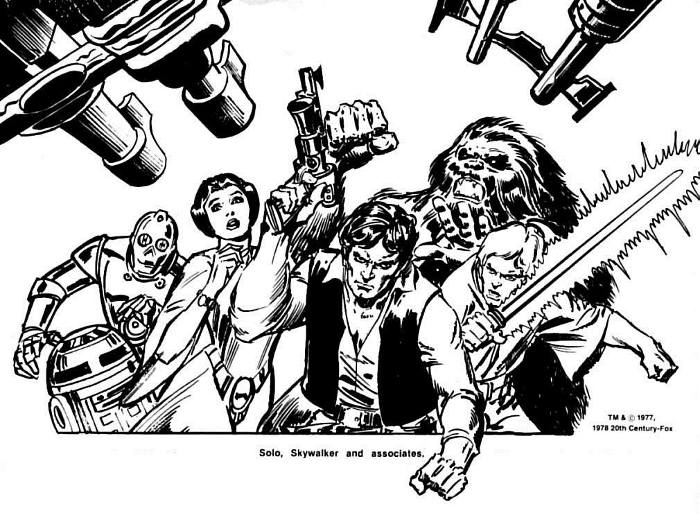 70s Sci-Fi Art: Marvel's Star Wars