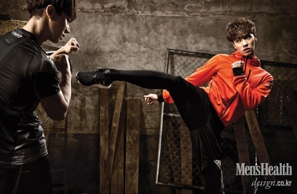 BEAST Gi Kwang - Men's Health Magazine March Issue '15