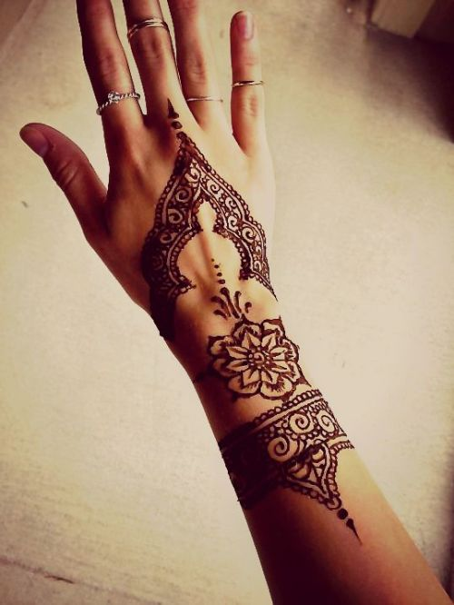 Tumblr Hand Henna Tattoo Designs
