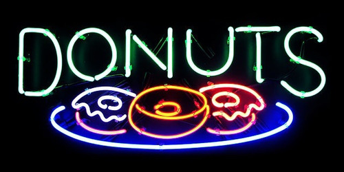 Cute Shut Up Wallpapers Neon Donuts Tumblr