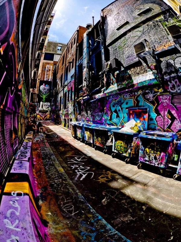 alley graffiti