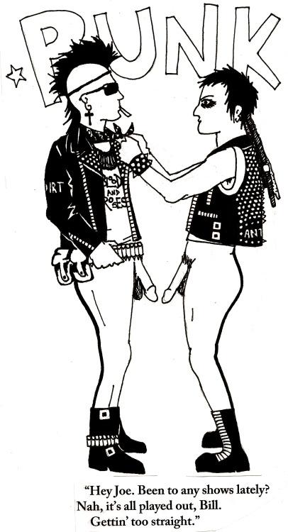 POST(graduate)PUNK, Fight heteronormativity in punk. It