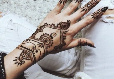 Henna Tattoo Designs For Girls