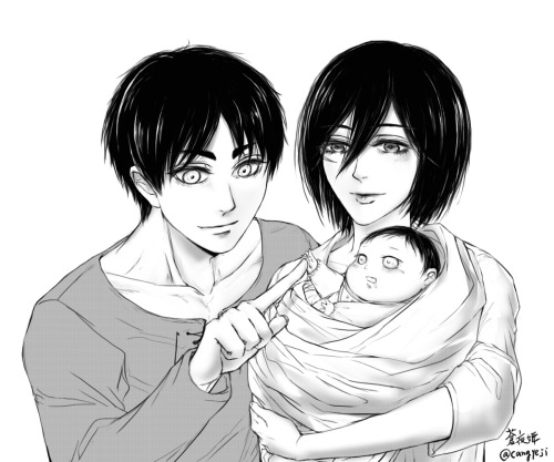 Attack On Titan Eren And Mikasa Child Fanfiction